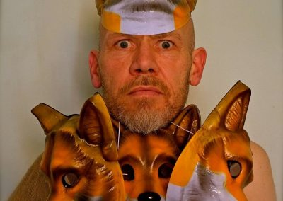Mik with Fox Masks